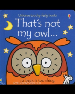 Usborne Touchy-Feely Books - That's Not My Owl