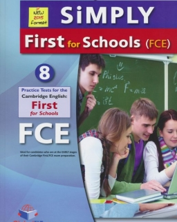SiMPLY First for Schools Student's Book with MP3 CD, Self-Study Guide and Answer Key - 8 Practice Tests - New 2015 format