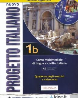 Nuovo Progetto Italiano 1B Quaderno Degli Esercizi e videocorso + Dvd