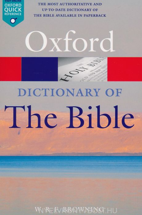 Oxford Dictionary of the Bible - Second Edition