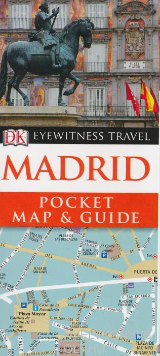 DK Eyewitness Pocket Map and Guide - Madrid