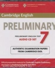 Cambridge English Preliminary English Test 7 Audio CD SET