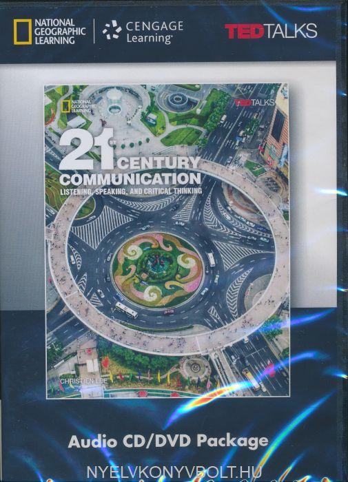 21st Century Communication 4 Audio CD/DVD Package