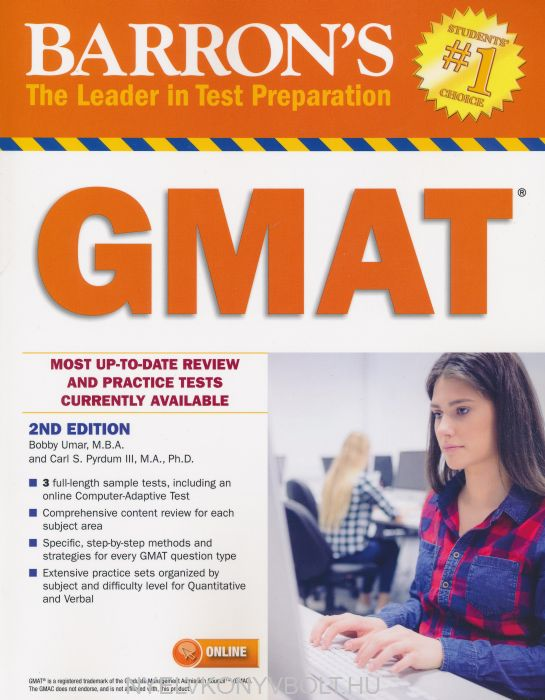Barron's GMAT with Online Test 2nd Edition