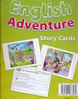 New English Adventure 1 Story Cards
