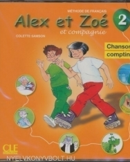 Alex et Zoé et compagnie niveau 2 CD Audio Chansons et comptines
