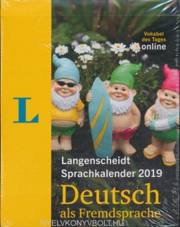 Langenscheidt Sprachkalender 2019 Deutsch als Fremdsprache