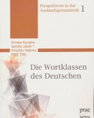 Die Wortklassen des Deutschen (Perspektiven in der Auslandsgermanistik)