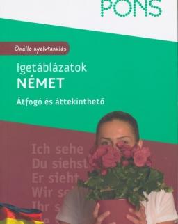 PONS Igetáblázatok Német - Átfogó és áttekinthető