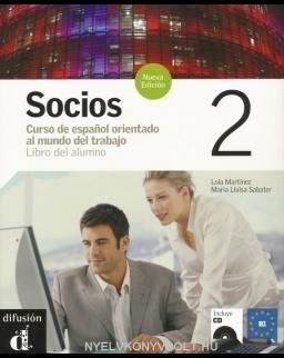 Socios 2 Libro del alumno + Audio CD