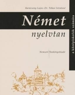 Német nyelvtan a középiskolák számára (NT-10166/1)