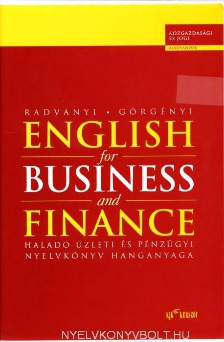Gazdasági nyelvkönyv sorozat - English for Business and Finance Cassettes