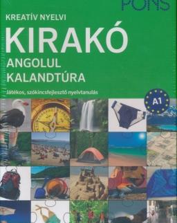 Kreatív Nyelvi Kirakó Angolul - Kalandtúra - Játékos, szókincsfejlesztő nyelvtanulás