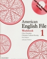 American English File 1 Workbook with Self-Study Multirom