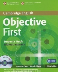 Cambridge English Objective First Student's Book without answers and with CD-ROM