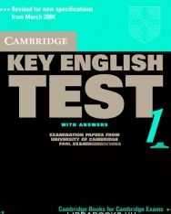 Cambridge Key English Test 1 Official Examination Past Papers 2nd Edition Student's Book with Answers