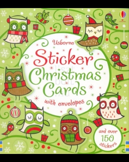 Sticker Christmas Cards (Usborne Sticker Cards)