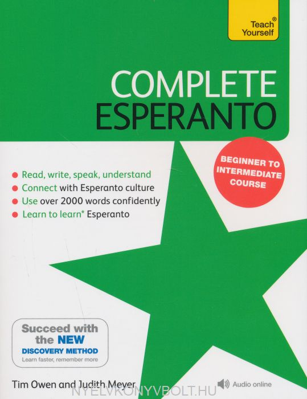 Teach Yourself Complete Esperanto: Learn to read, write, speak and understand Esperanto