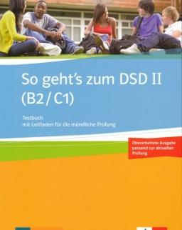 So geht's zum DSD II (B2/C1) Testbuch 2016