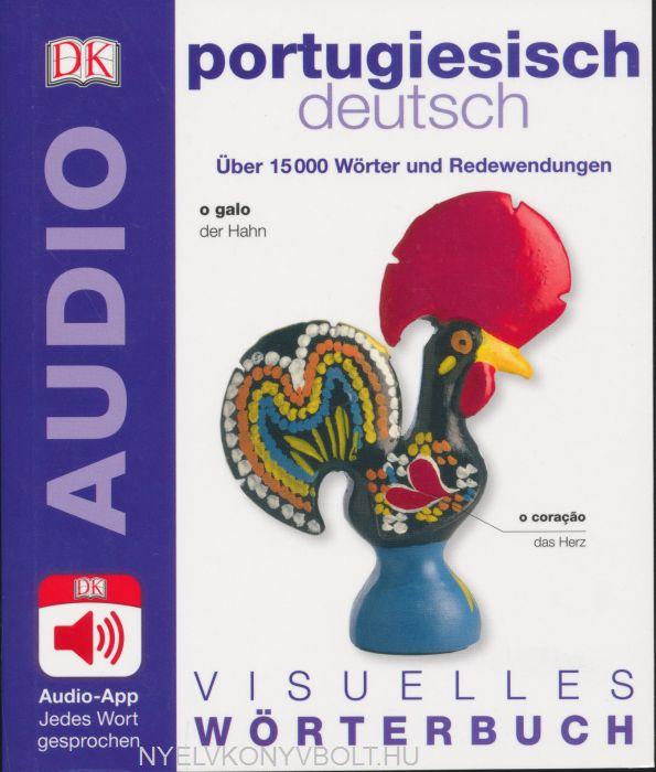 Visuelles Wörterbuch Portugiesisch - Deutsch - Mit Audio-App - Jedes Wort gesprochen