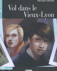 Vol dans le Vieux-Lyon avec CD Audio - Black Cat Lire et s'entrainer Niveau A2