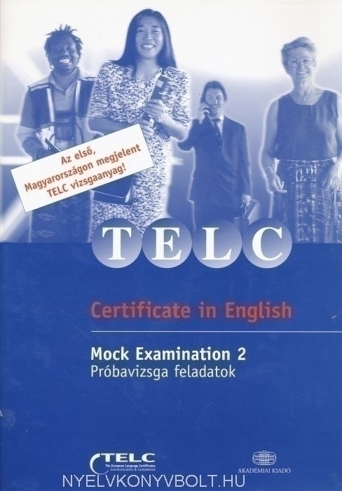 TELC Certificate in English + Audio CD