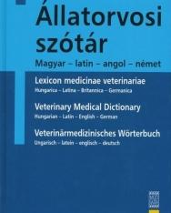 Állatorvosi szótár - Magyar-latin-angol-német