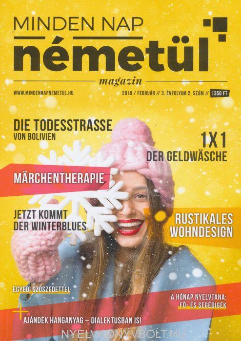 Minden Nap Németül magazin 2019 február