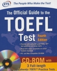 ETS - Official Guide to the TOEFL Test With CD-ROM (4th edition)
