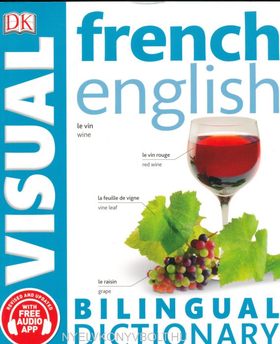 DK French-English Visual Bilingual Dictionary 2017 with Free Audio App