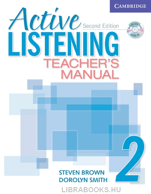 Active Listening 2 Teacher's Manual with Audio CD 2nd Edition