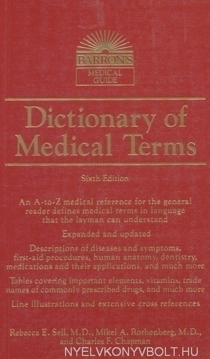 Barron's Dictionary of Medical Terms