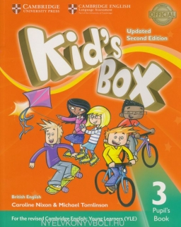 Kid's Box Second Edition Updated 3 Pupil's Book