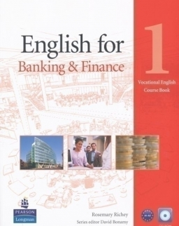 English for Banking & Finance 1 Vocational English Course Book with CD-ROM