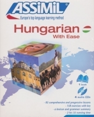 Assimil - Hungarian with ease - Magyarul könnyen (book + 4 audio CDs)