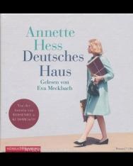 Annette Hess: Deutsches Haus: 7 CDs Audio-CD – Gekürzte Ausgabe, Hörbuch