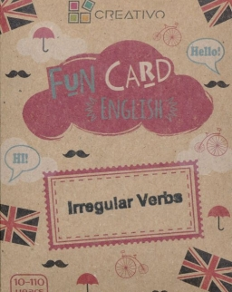 Fun Card English: Irregular Verbs