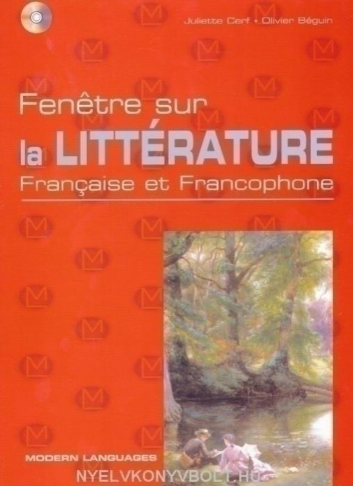 Fenétre sur la Littérature - Francaise et Francophone + Audio CD