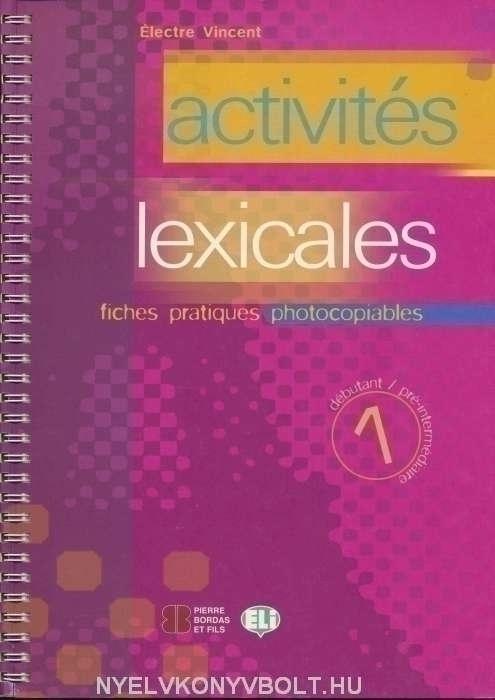 Activités Lexicales 1 - Photocopiables