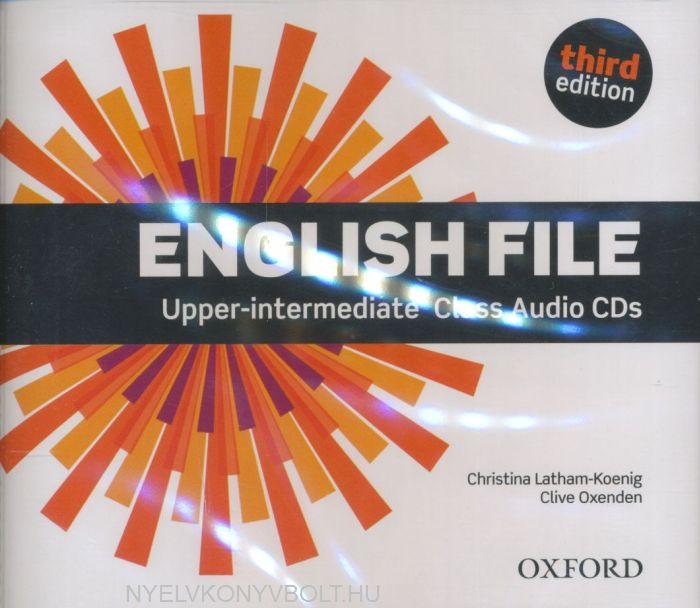English File - 3rd Edition - Upper-Intermediate Class Audio CDs (3)