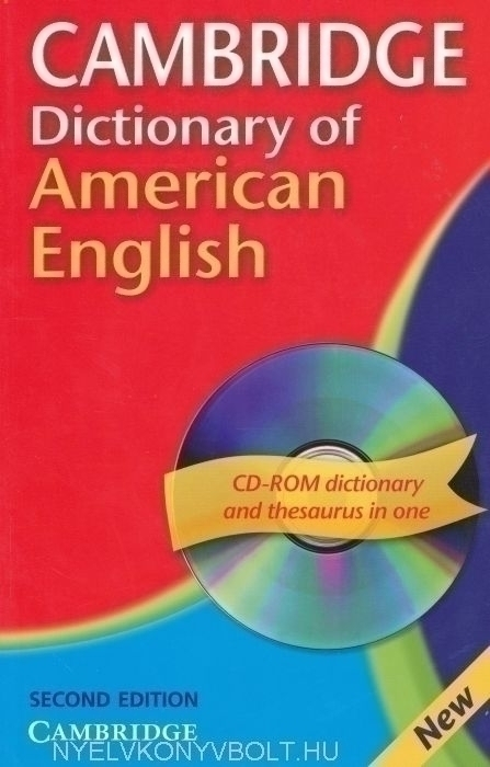 Cambridge Dictionary of American English with CD-ROM 2nd Edition