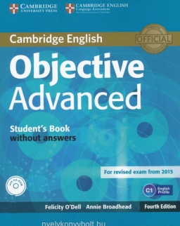 Objective Advanced 4th edition Student's Book Pack for revised exam from 2015 (Student's Book with CD-ROM without Answers)