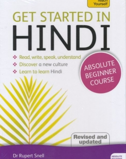 Teach Yourself - Get Started in Hindi from Absolute Beginner Course Book & MP3 CD pack - Revised and Updated