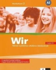 Wir 2 Munkafüzet + Audio CD A2