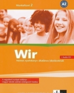 Wir 2 Munkafüzet + Audio CD A2