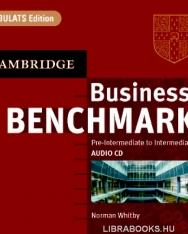 Business Benchmark Pre-Intermediate to Intermediate - BULATS Edition Audio CDs