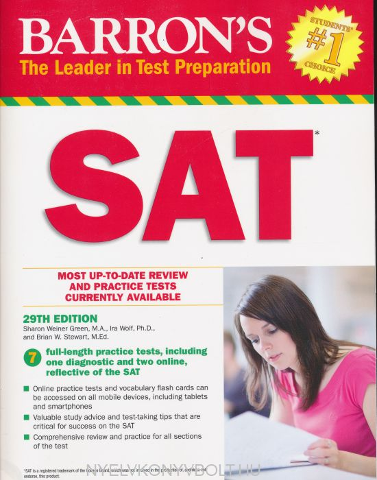 Barron's SAT 29th Edition