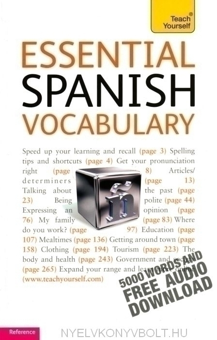 Teach Yourself - Essential Spanish Vocabulary
