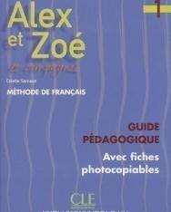 Alex et Zoé 1 Guide pédagogique