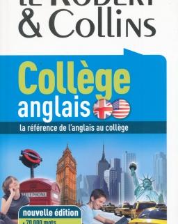 Le Robert & Collins College Anglais - Dictionnaire francais-anglais anglais-francais Nouvelle Edition 2012